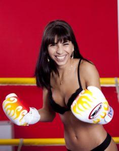 Purple Boxing Glove
